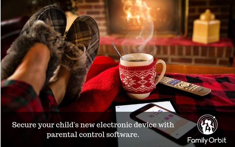 use a parental control app to safeguard your new device