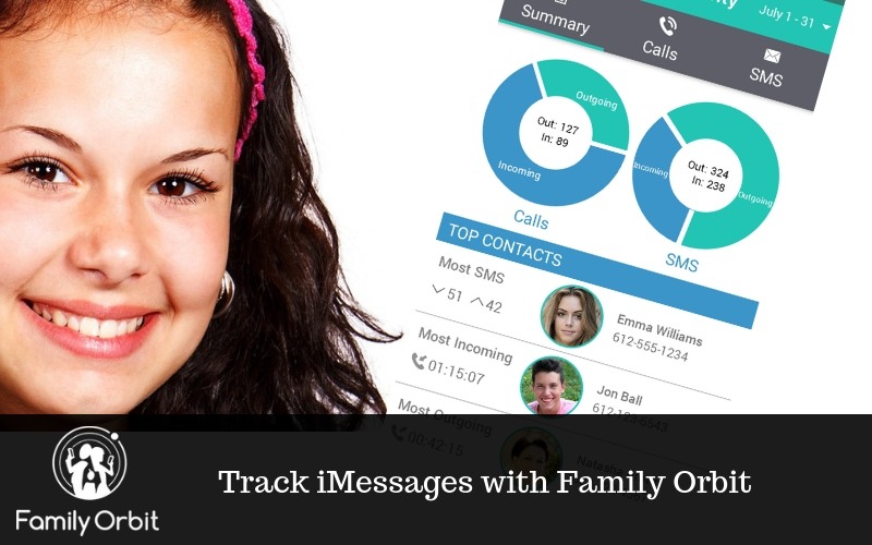 Track iMessages with Family Orbit®