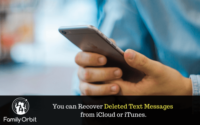 recover deleted text messages on iPhone with phone rescue