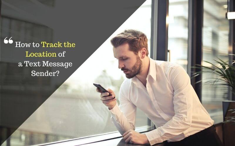 find the location of a text message sender