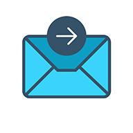 autoforward text icon