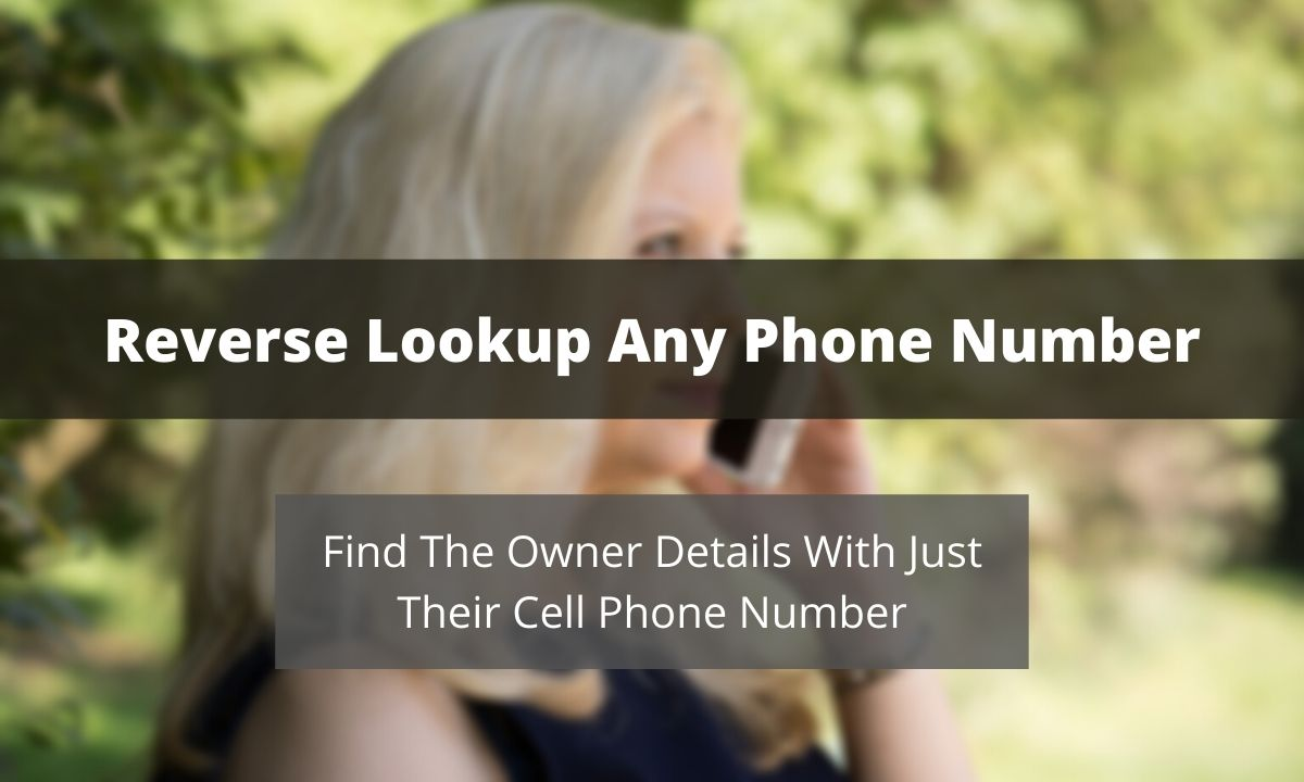 You can do a reverse phone lookup with just the cell phone number.