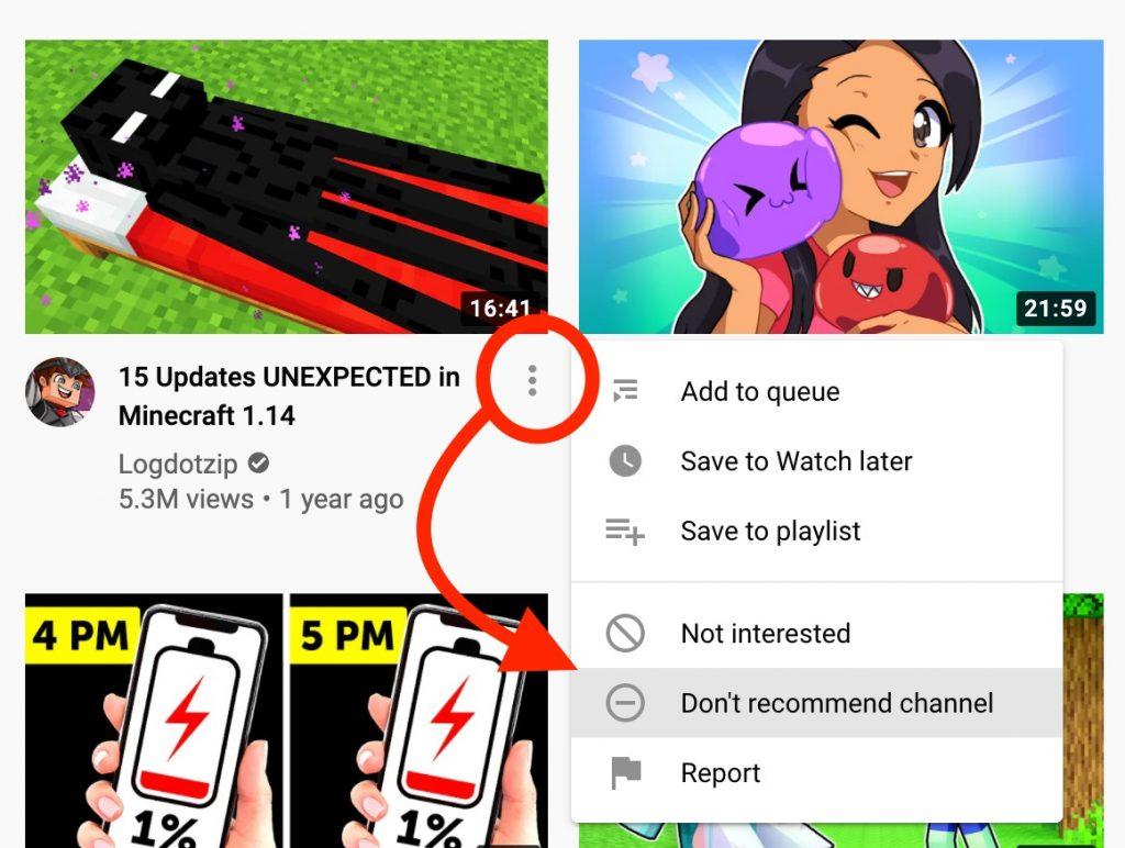 block youtube